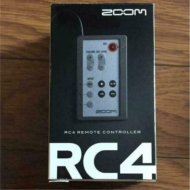 Wired Remote Control New Smart Commander for H4n and H4n Pro Zoom RC4