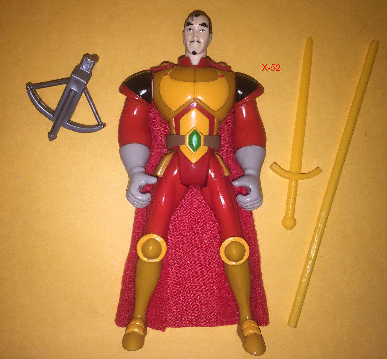 HIGHLANDER the ANIMATED SERIES tas RAMIREZ figure TOY quentin noble mentor