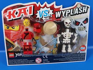 Kai vs Wyplash Neu /& OVP LEGO Ninjago