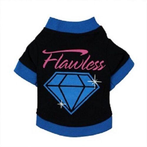 Impecable Diamante Perro Camiseta