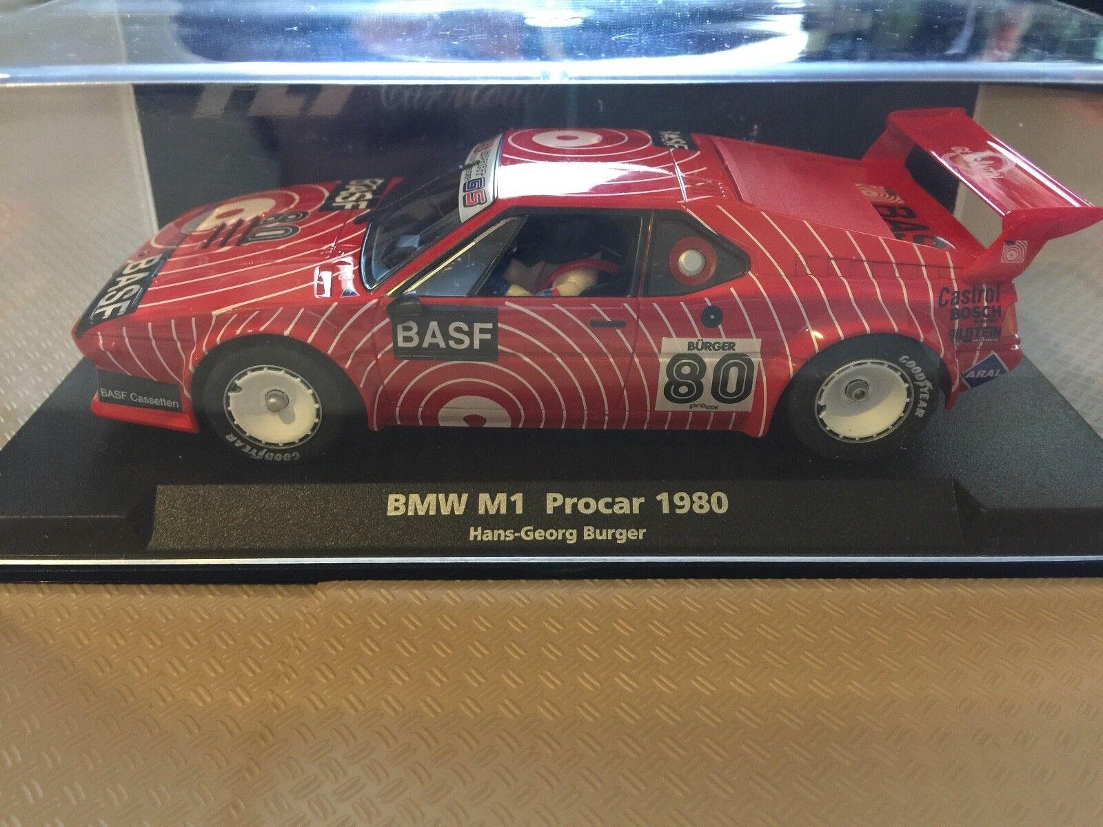 Fly A1301 BMW M1 - BASF Procar 1980