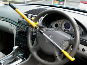 Image Is Loading Car Van Adjule High Security Anti Theft Yellow