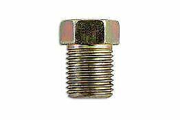 Genuine LASER Full Thread Male Brake Nut 10 x 1.0mm Pk 50 31186