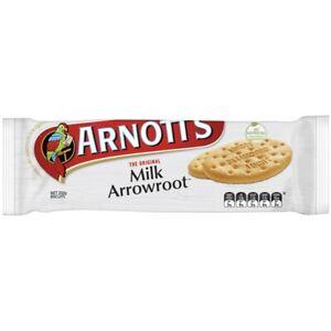 NEW Arnott's The Original Light & Crunchy Milk Arrowroot Milk Biscuits 250g