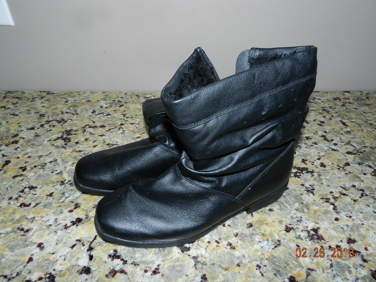 Ladies Totes Weather Protector Boots Black  Size 7.5M