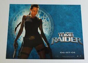 Lara Croft Tomb Raider 2001 Original Uk Mini Quad Cinema Poster Ebay