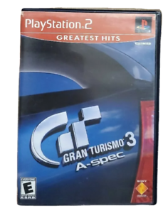 Gran Turismo 3 A-Spec PS2 PlayStation 2 Game