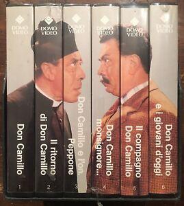 Cofanetto-VHS-Serie-Completa-Peppone-E-Don-Camillo-VHS-Nuovi-In-Cellophane