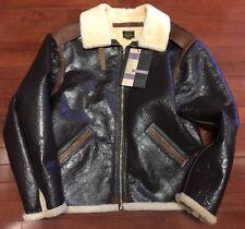 Eastman Leather USAAF Type B-6 Sheepskin & Horsehide  jacket sz 44
