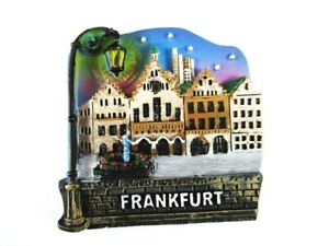 Frankfurt-Roemer-Poly-Fridge-Magnet-Souvenir-Germany-Deutschland