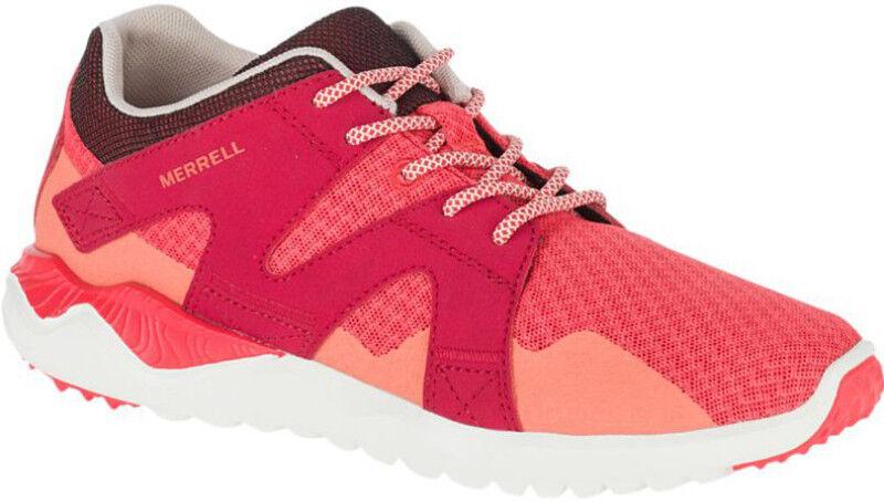 Merrell Merrell Merrell 1Six8 Mesh damen Lace Up Strawberry Hiking Fitness Sports Trainers f84