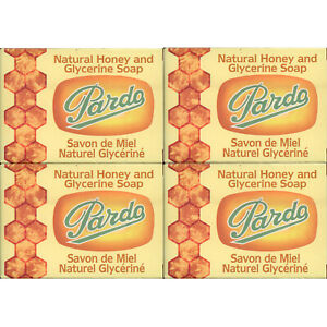 4-Pack-Pardo-Natural-Honey-Glycerine-Soap-Skin-Moisturizer-Jabon-Glicerina-Miel