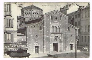 Vintage-Postcard-Italy-1910-ca-MILANO-MILAN-CHIESA-SAN-BABILA-LOMBARDIA