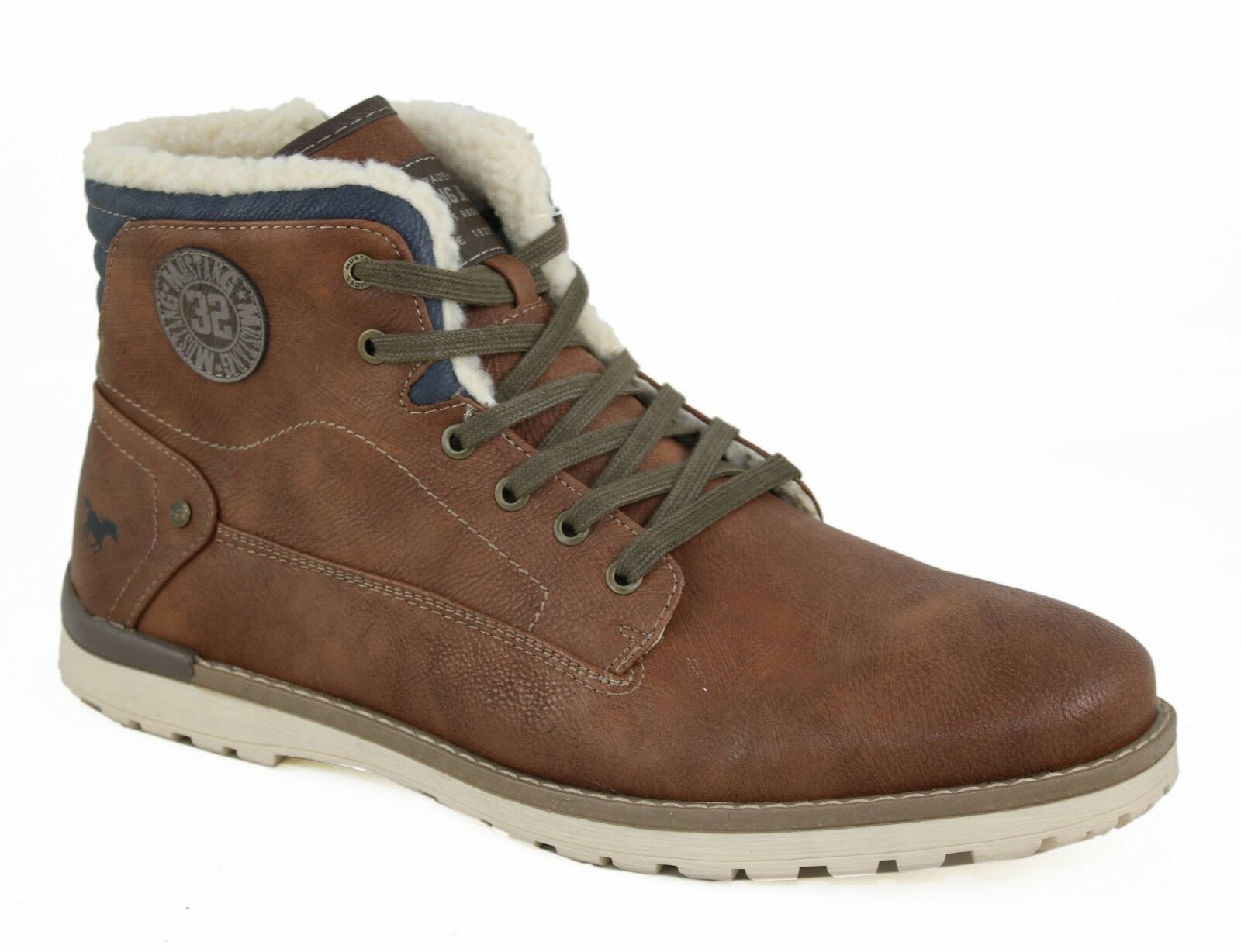 MUSTANG Herren Schnür-Stiefel Stiefel 4092-602-301 C42