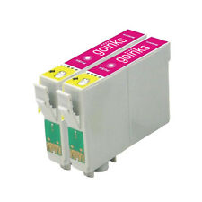 2 Magenta Ink Cartridges for Epson Stylus Photo R220 R320 R340 RX300 RX500 RX620