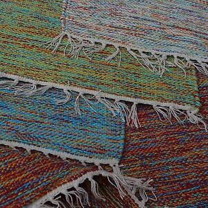 coton-tisse-la-main-Tapis-HAPPY-couleur-tendance-MIXE-fleckerl-en-haute-qualite