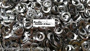 50 of M6 & 30 of M8 & 20 of M10  Steel Wave / Curve Washers DIN 137A Curved