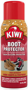 Kiwi-Aerosol-Tough-Silicone-Protection-Work-Boots-amp-Footwear-Protector-10-5-oz