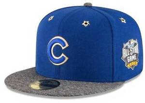 58c141dda66 Official 2016 MLB All Star Game Chicago Cubs New Era 59FIFTY Fitted ...