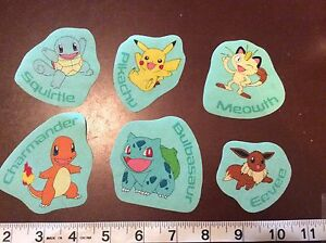 Pokemon-Pikachu-and-others-fabric-iron-on-appliques-style-4