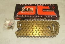JT Chain Motorcycle Chain 520 x 112 Links Long Gold X Ring BRAND NEW