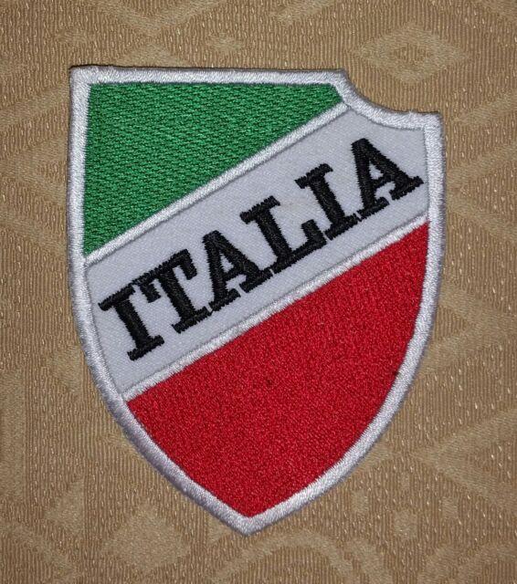 ITALIEN - ITALIENISCHER - Flagge Fußball Gestickte Abzeichen/ Logo