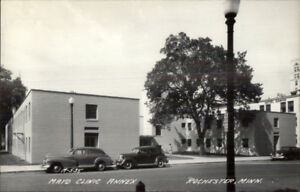 Details about Rochester MN Mayo Clinic Annex Old Cars Real Photo Postcard  EXC COND