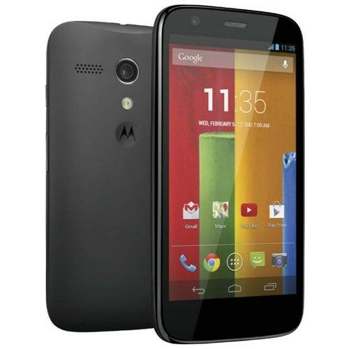 Motorola Moto G 8GB XT1028 Verizon Wireless Page Plus Black, Prepaid - Cracked