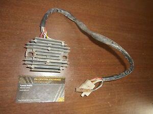 87 88 89 suzuki quadrunner lt300e lt 300 e voltage regulator