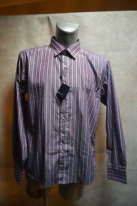 elegante Us camisa Taglia 5 Camicia 1881 Cerruti Nuovo Camicia camicia Col Xxl 18 fq4aqw