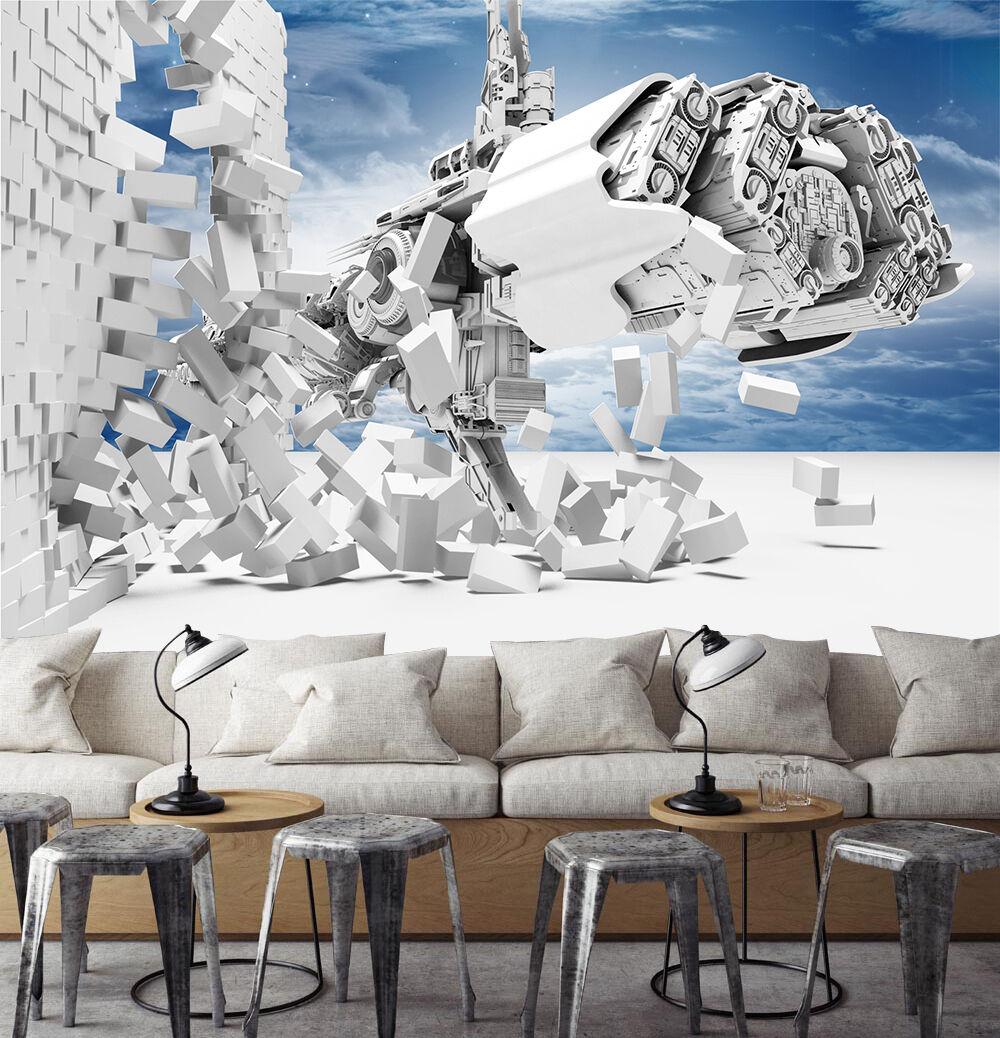 3D Modello unico  Parete Murale Foto Carta da parati immagine sfondo muro stampa