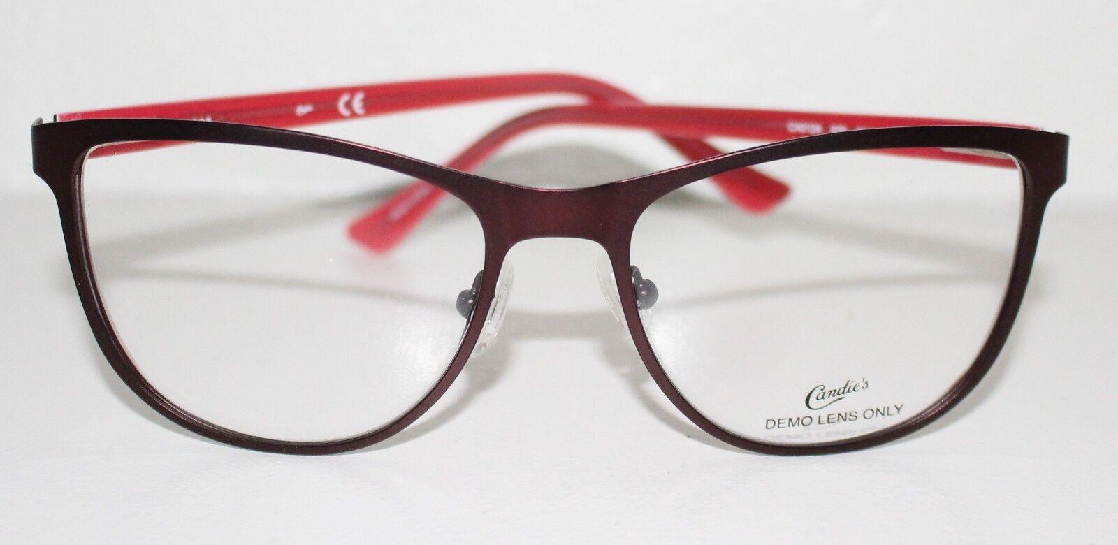 dbc1ce92c396 Buy Candies CA0124 070 Matte Bordeaux DESIGNER Optical Eyeglass ...