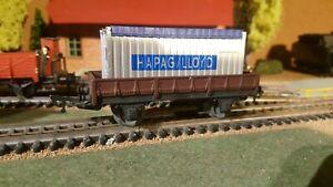 JEP-echelle-ho-wagon-plat-avec-container