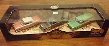 1998 - Hotwheels Cool Classics Series - Hard Rock Cafe - Three Car Set New/Rare!