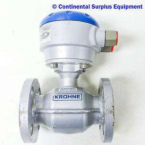Krohne optiflux 4000 div 2 nl 3313 lc mag flow flow for Div flow