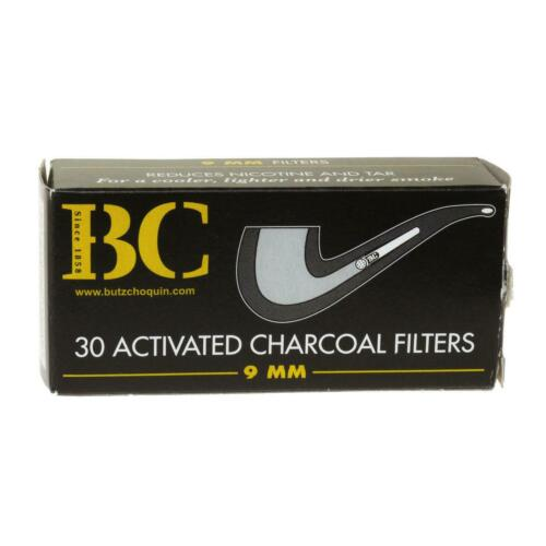 3 x 30 pack Butz-Choquin 9mm pipe filters 90 filters
