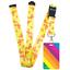 High-quality-ID-badge-holder-RAINBOW-STRIPES-amp-Secure-Lanyard-neck-strap-soft thumbnail 34