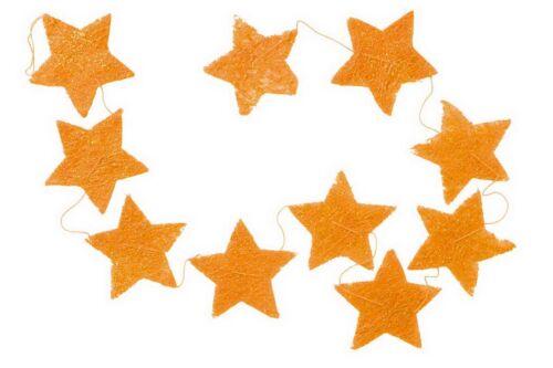 Sternengirlande Sternendekoration aus Sisal