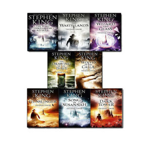 Stephen-King-The-Dark-Tower-Series-8-Books-Collection-Set-Pack-Book-1-8-NEW
