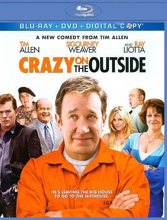 Crazy on the Outside - BluRay DVD Tim Allen, Sigourney Weave