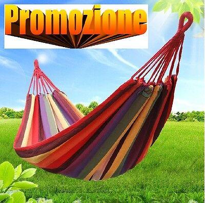 Offerte Amaca Da Giardino.Amaca Da Giardino Comoda E Resistente Relax 190x80 Cm 100kg Super