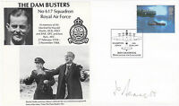 Dam Busters Cover Signed  T Bennett 617 Sqn Navigator