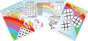 Pack-of-12-Unicorn-Fun-and-Games-Activity-Sheets-Party-Bag-Books-Fillers