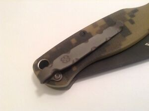 Details about Titanium Clip Compatible With Spyderco Paramilitary 2 Manix 2  XL Stretch Knife
