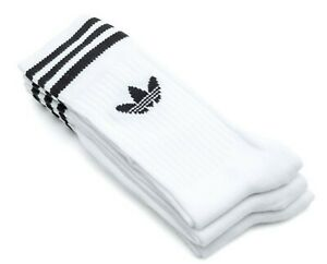 Adidas-Men-Solid-Crew-3-Pairs-Socks-White-3pp-Running-Sports-Cotton-Sock-S21489