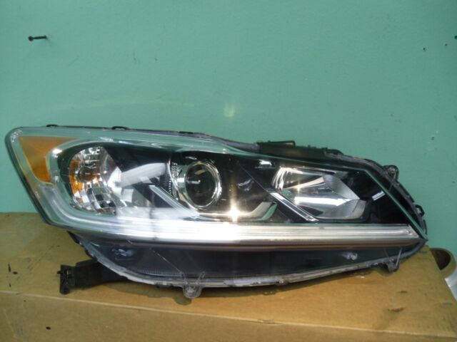 2016 2017 Honda Accord 4 Door Penger Side Led Headlight Oem Ud20fx T2ax A8