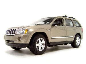 Image Is Loading 2005 JEEP GRAND CHEROKEE GOLD 1 18 DIECAST