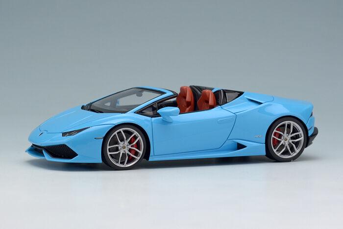 Maquillage Eidolon EM342A1 1 43 Lamborghini Huracan LP610-4 Spyder 2015 Pearl bleu
