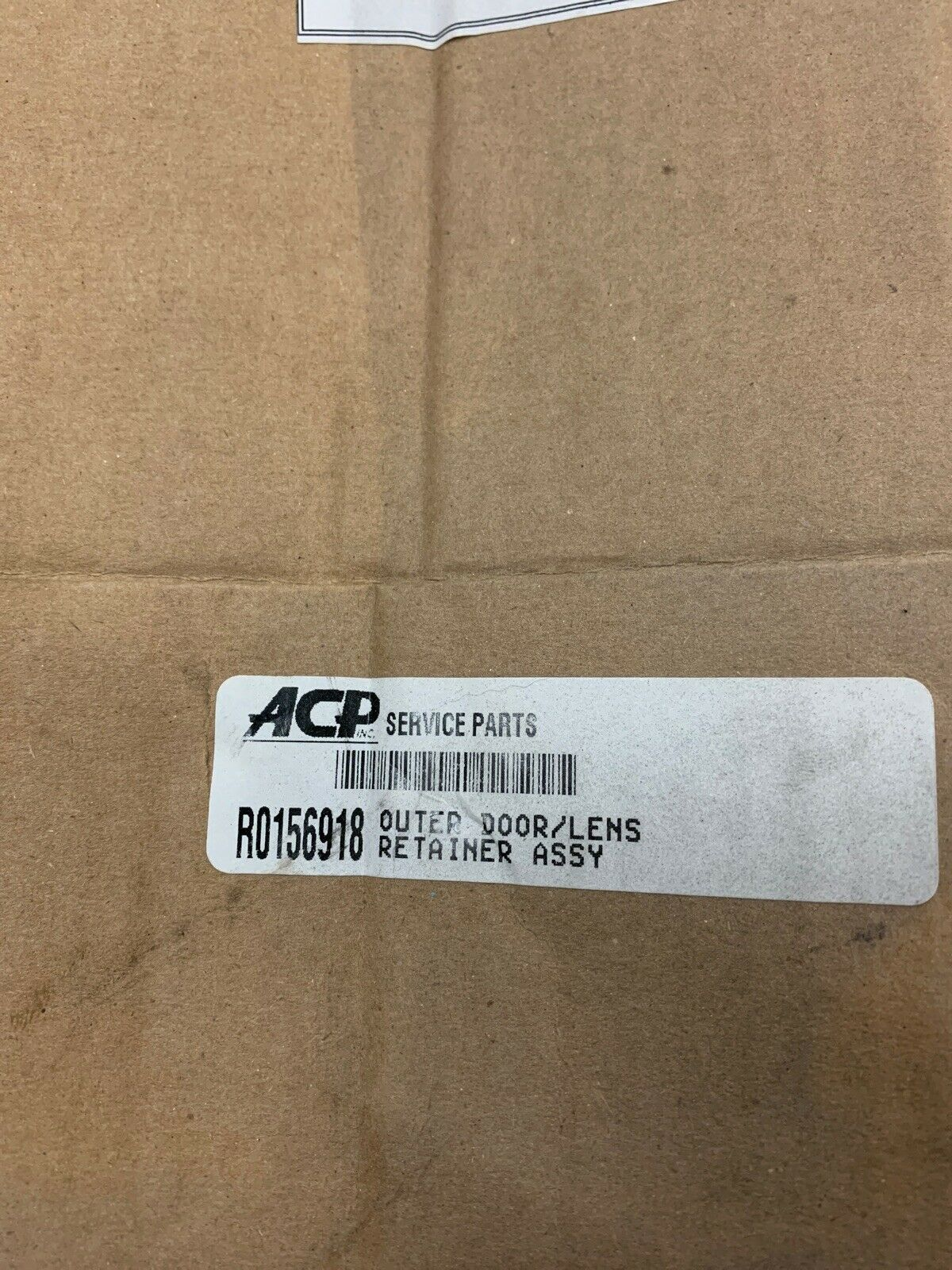 AMANA R0156918 Outer Door//Lens Retainer Assembly