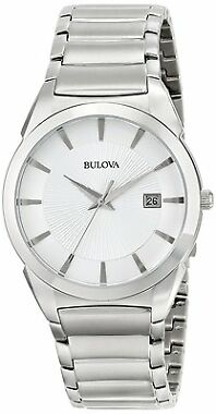 Bulova 96B015 Men's Date Dress Watch